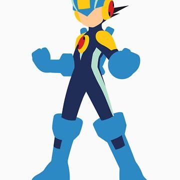 Megaman  Minimal by jax89man
