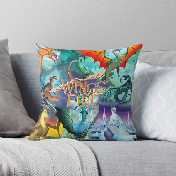 Wings Of Fire All Together Throw Pillow