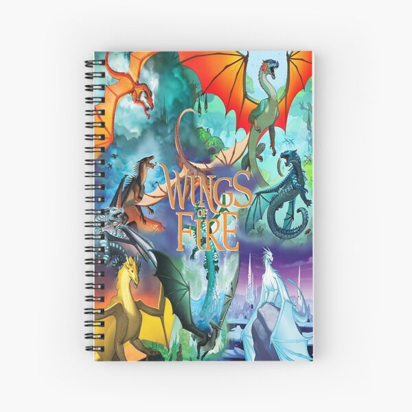 Wings Of Fire All Together Spiral Notebook