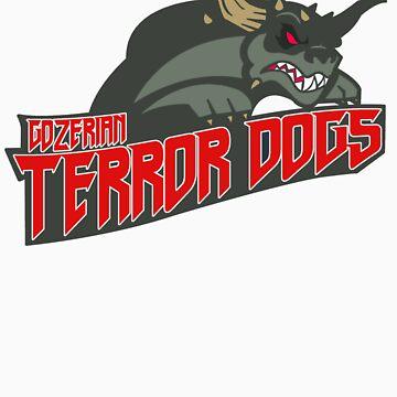 Gozerian Terror Dogs by monsterfink