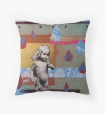 I once was little Throw Pillow