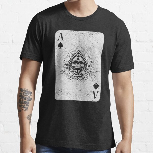 Ace Of Spades (distressed design) Essential T-Shirt