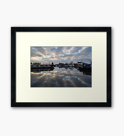 Dawn at West Stockwith Framed Print