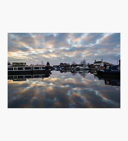 Dawn at West Stockwith Photographic Print