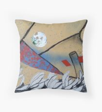 Flotsam and Jetsum Moon (second series) Throw Pillow