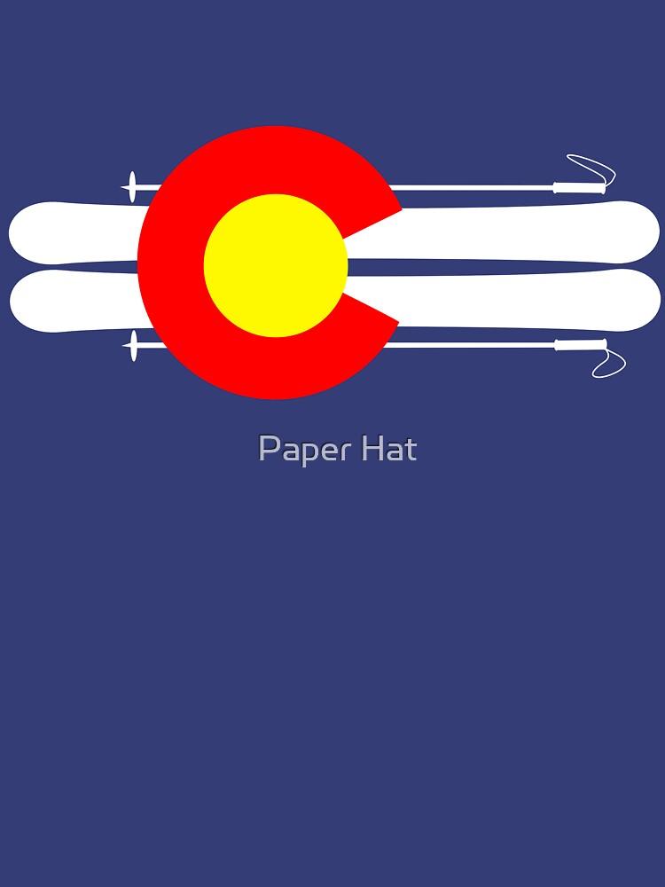 Colorado Flag Skis | Unisex T-Shirt