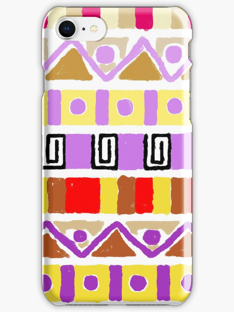 Patterened iPhone Case by megantaylor283