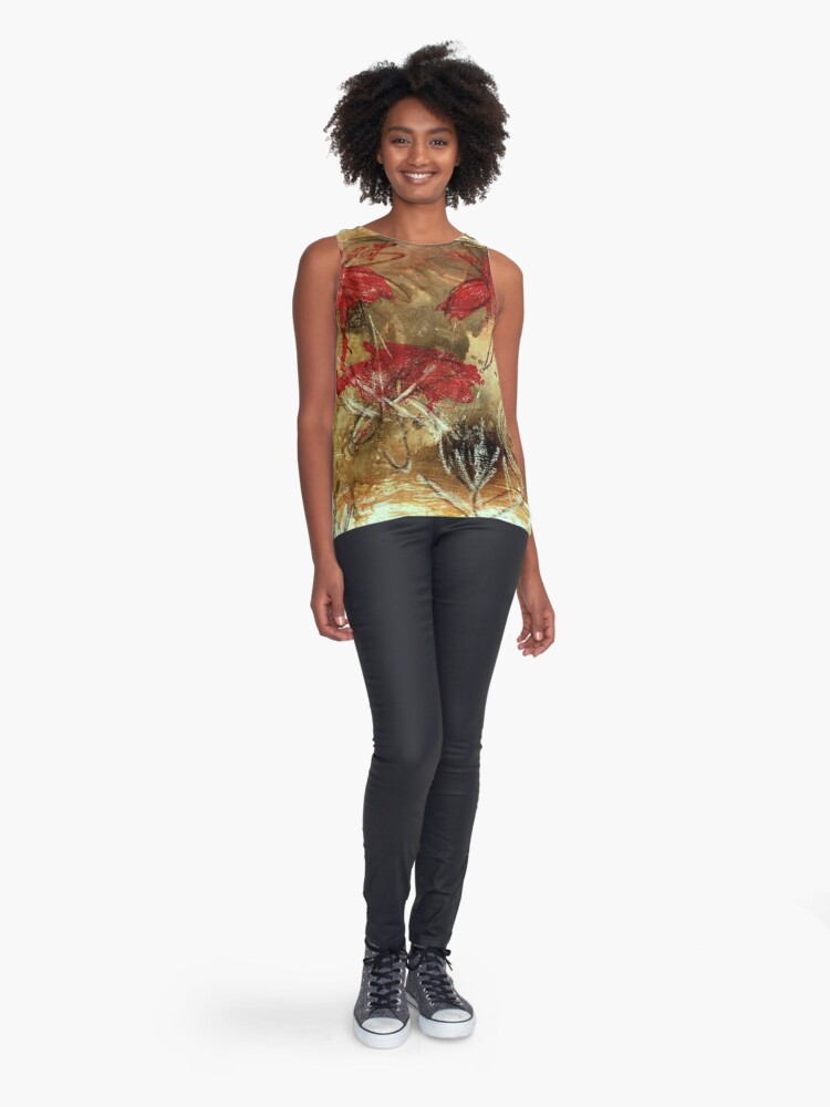 Alternate view of Beauty is everywhere Sleeveless Top