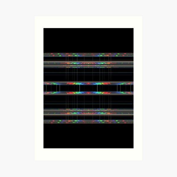 Gene type Art Print