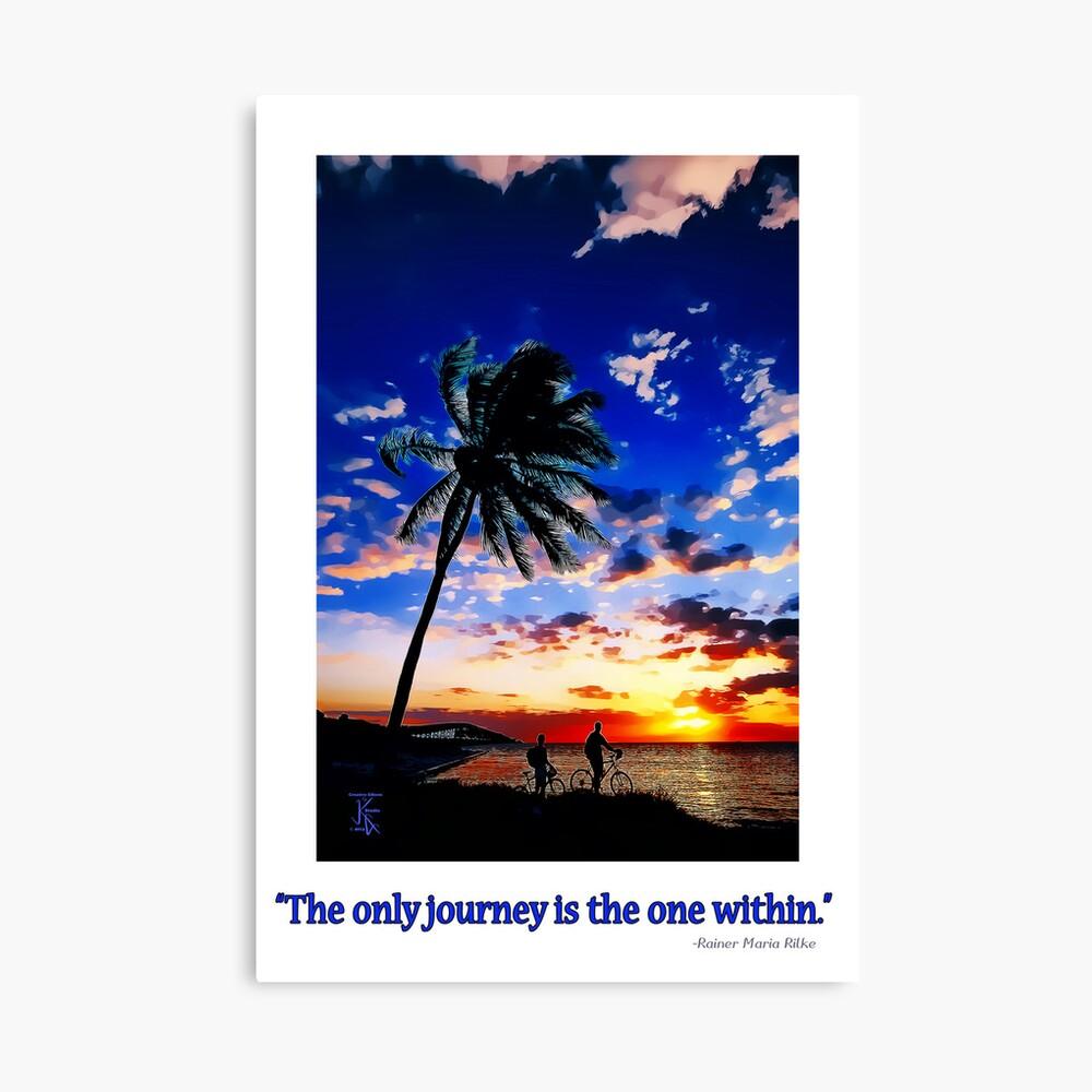 Sunrise from the Florida Keys Leinwanddruck