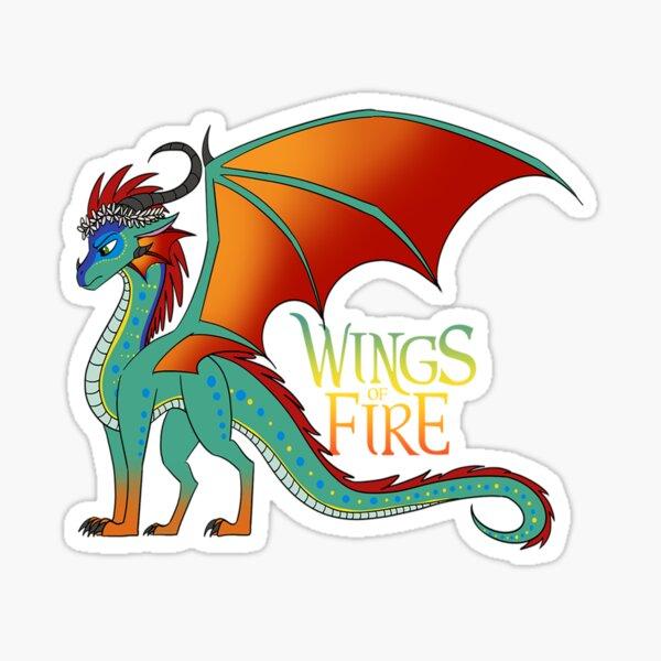 Wings Of Fire - Glory Dragon Sticker