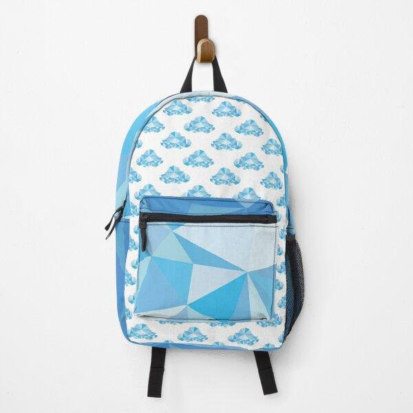 Diamond Clouds in the Sky Pattern Backpack