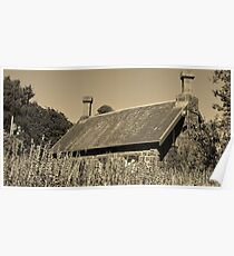Back to the past | A Cottage in the Gardens Poster