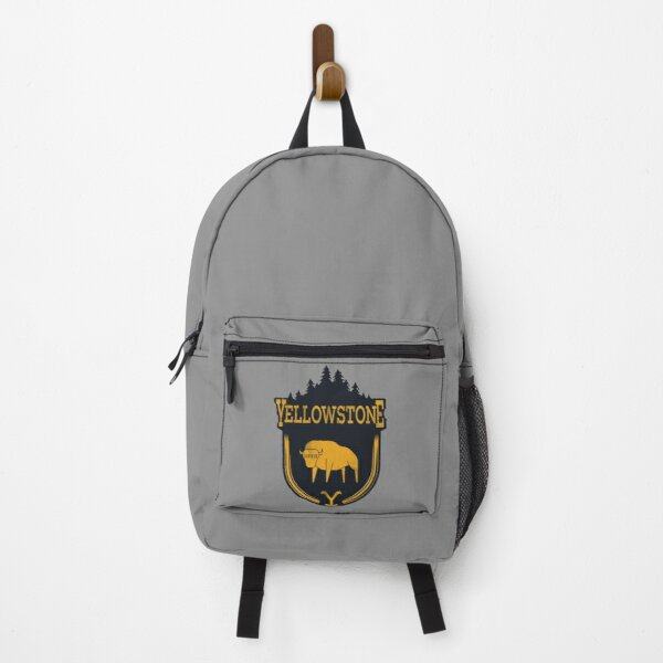 yellowstone tv series bison Backpack