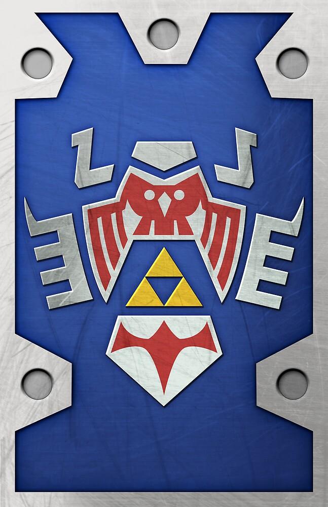 Zelda Hylian Shield (Majora's Mask) by Ayax Alarcon