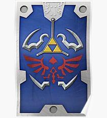 Zelda Hylian Shield (Twilight Princess) Poster