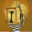 Giraffe In A Jar by SuddenJim