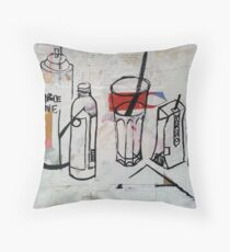 Up-cycled Still Life Throw Pillow