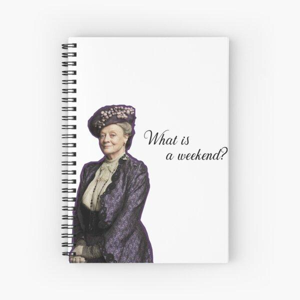 dowager Spiral Notebook