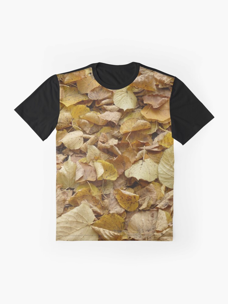 Alternate view of Autumn Fall Leaves Photography Graphic T-Shirt