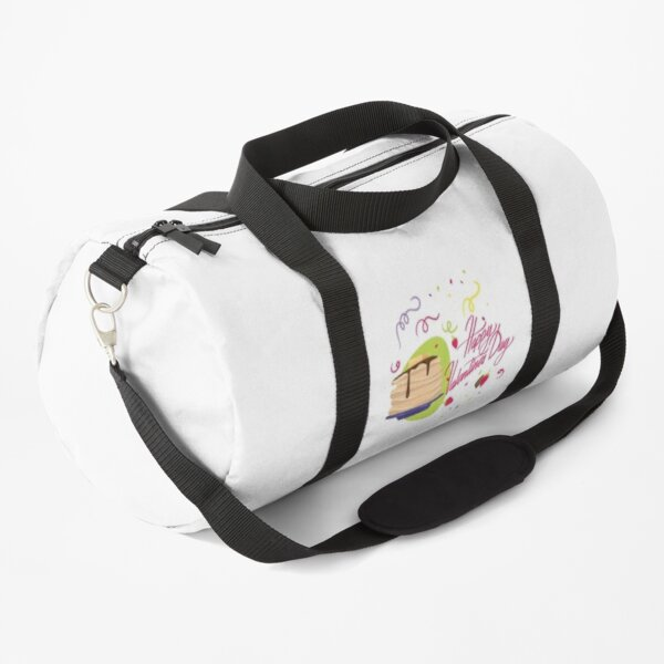 Happy Valentines Day Pancakes Valentine Duffle Bag
