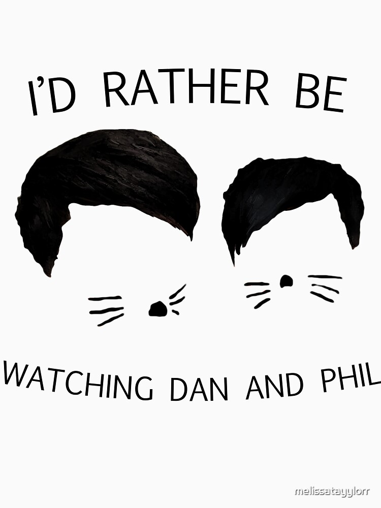 I'd rather be watching Dan and Phil | Baseball  Sleeve