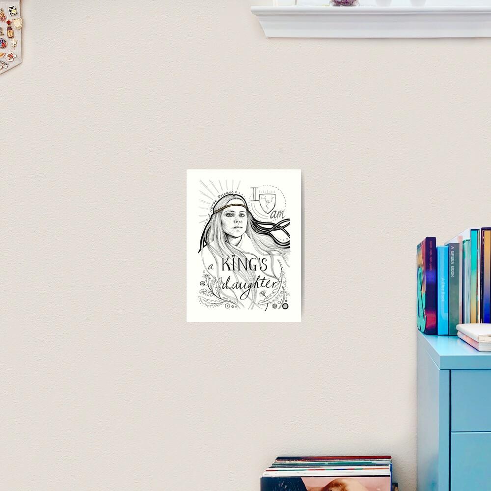 A King's Daughter Art Print