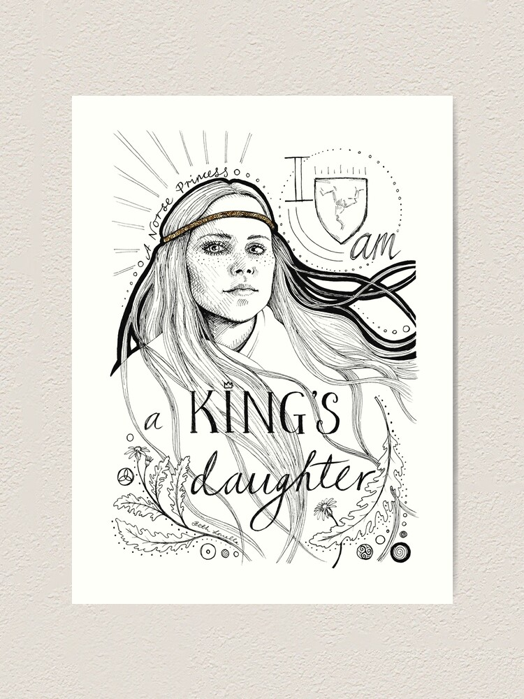 Alternate view of A King's Daughter Art Print