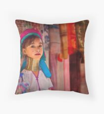 Refugee's Sorrow: Bound Body and Soul #1  Throw Pillow