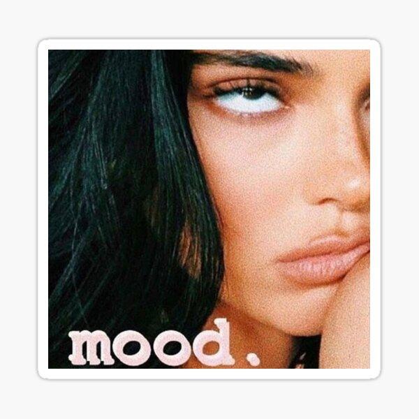 Kendall Jenner Mood Sticker