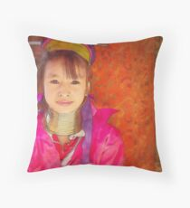 Refugee's Sorrow Bound Body and Soul 4 Throw Pillow