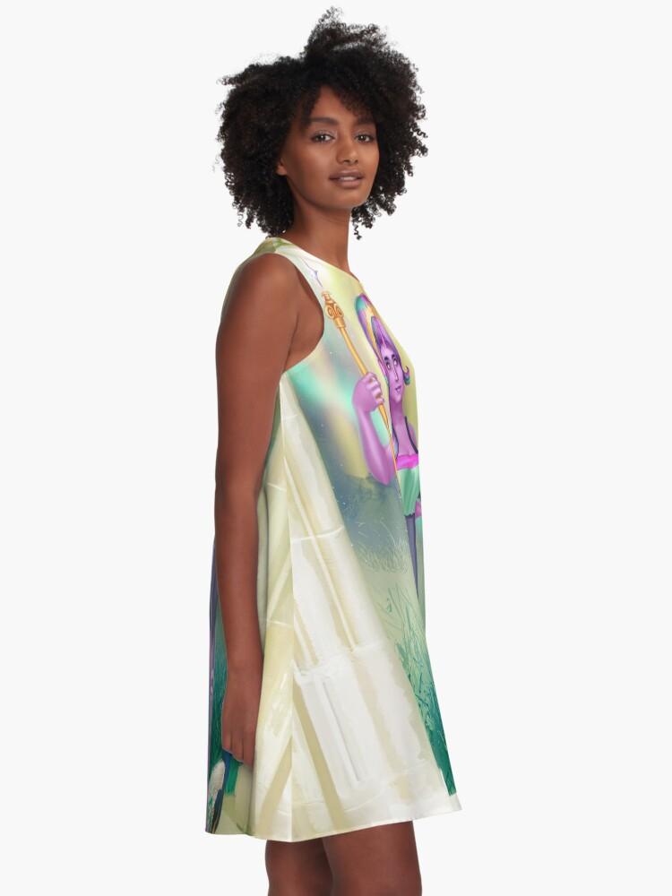 Alternate view of Hera Goddess Dress A-Line Dress