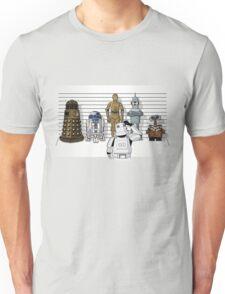 Droid Lineup Unisex T-Shirt