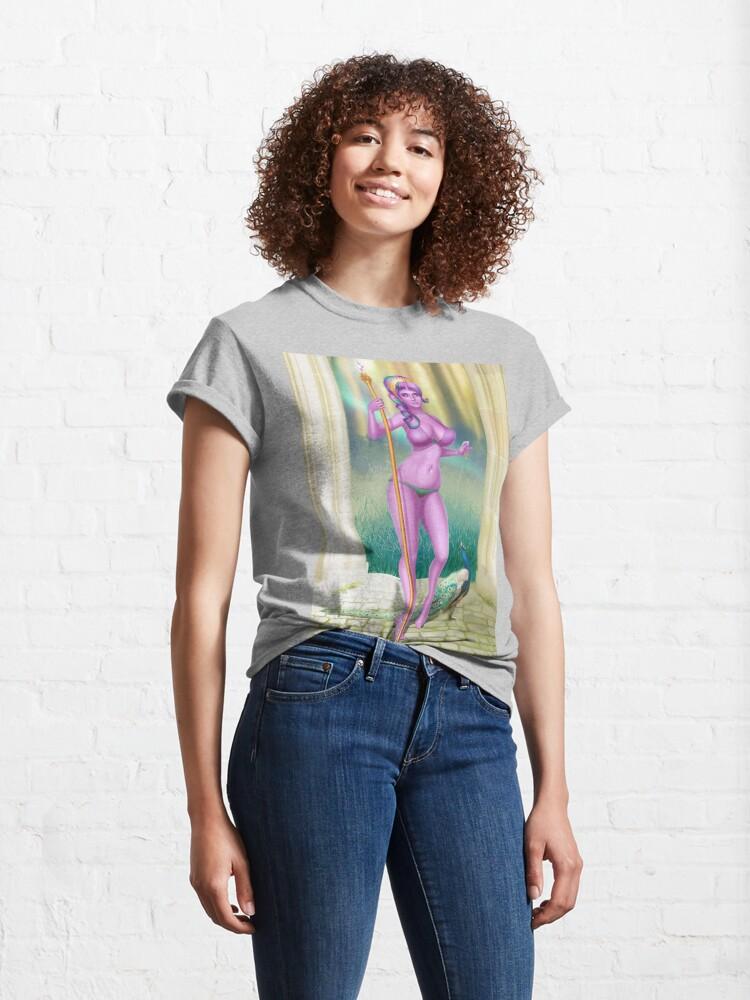 Alternate view of Hera Goddess Bikini Classic T-Shirt