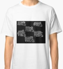 Truck Art Traffic Jam Classic T-Shirt