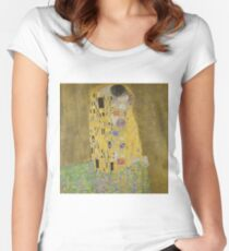 Klimt The Kiss Women's Fitted Scoop T-Shirt