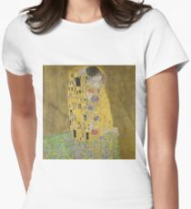 Klimt The Kiss Womens Fitted T-Shirt