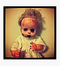 Zombie Doll Photographic Print