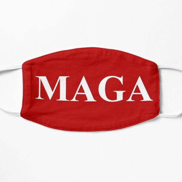 MAGA Make America Great Again Shirt, MAGA Red, Trump 2020, MAGA Support Trump Flat Mask