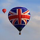 Team GB hot air balloon by digitalanomaly
