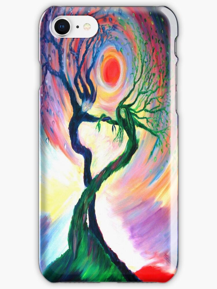 Dancing Tree Spirits by anniebart