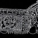 Solitary Truck - Truck Art by Marium Rana