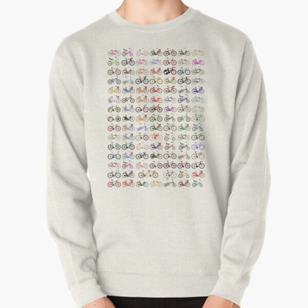 Bikes Pullover Sweatshirt