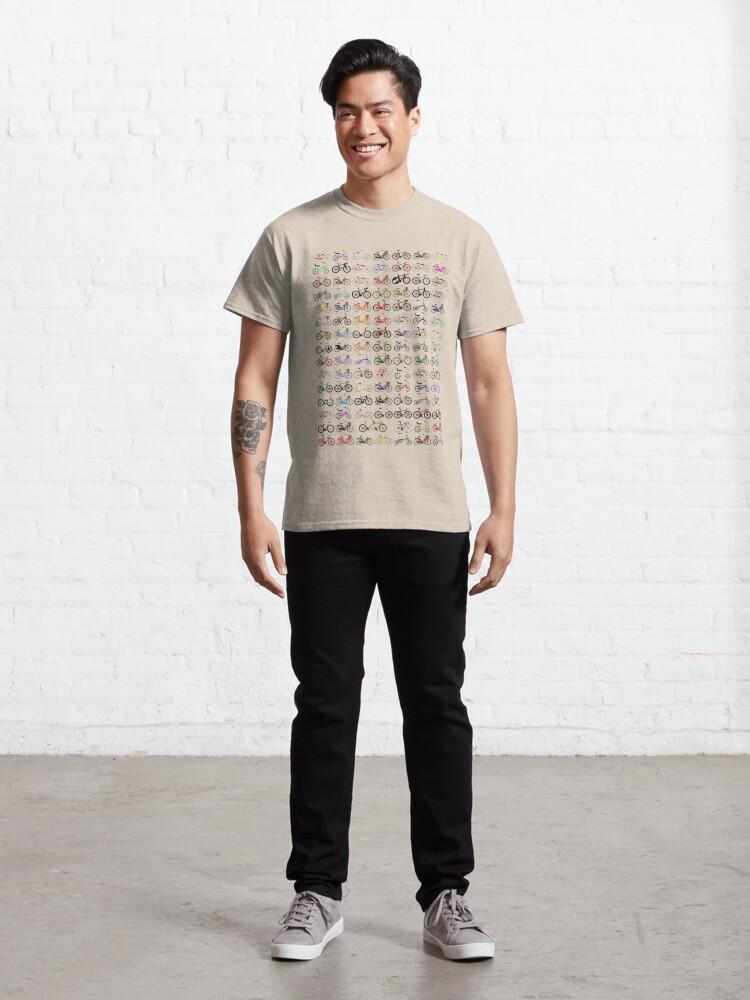 Alternate view of Bikes Classic T-Shirt