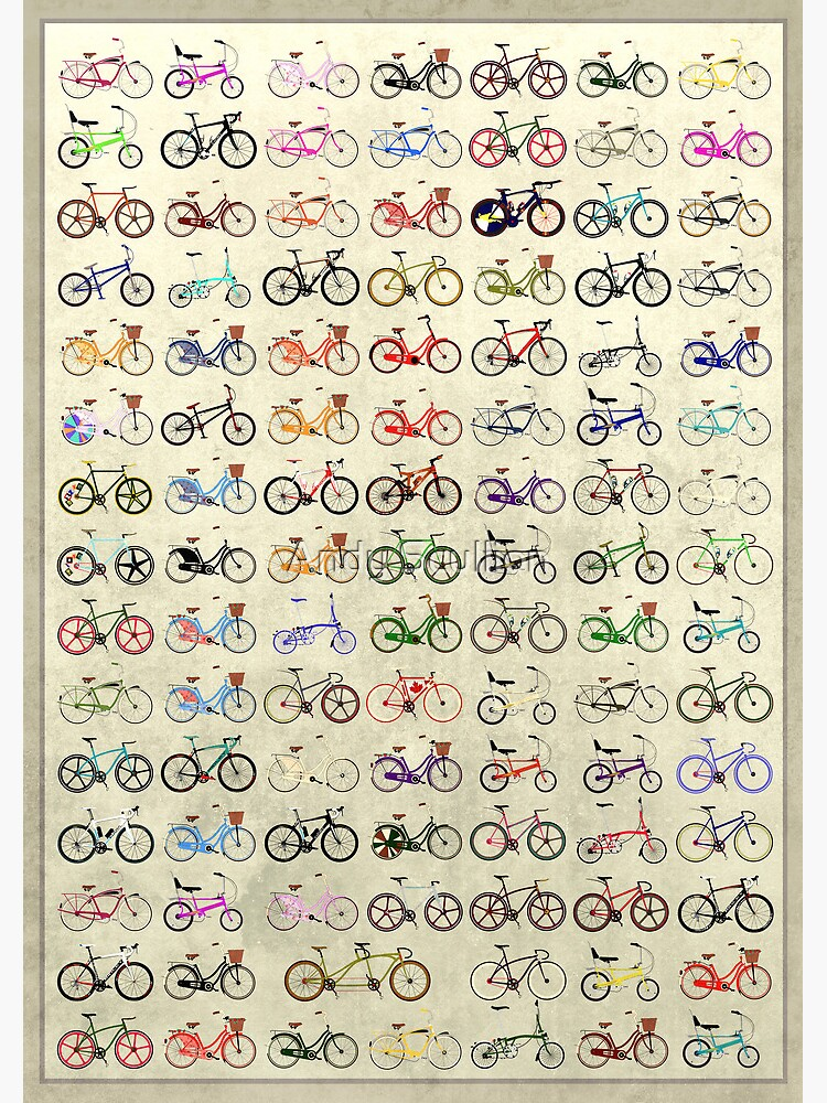 Bikes by AndyScullion
