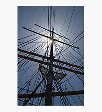 Tall Ship Rigging Photographic Print