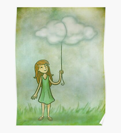 Cloud on a string Poster