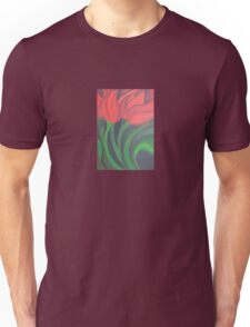 Red Tulip Diptych (Left) T-Shirt