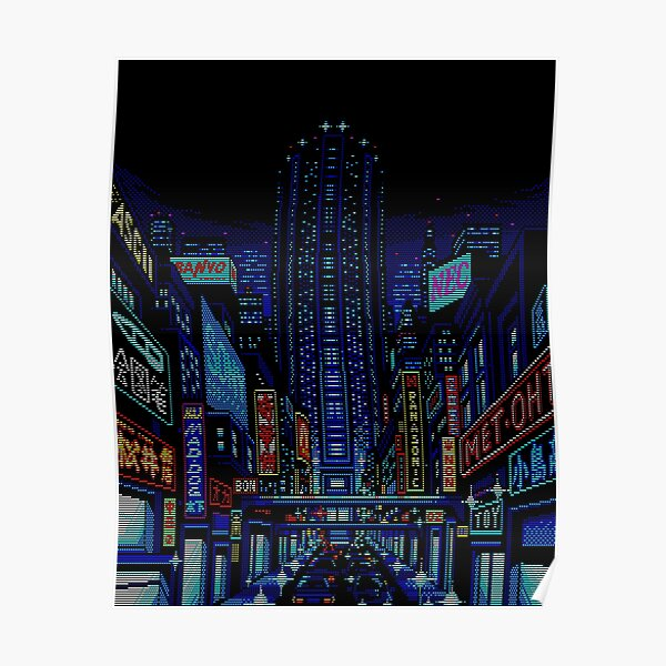 Welcome to Neo Kobe City Poster