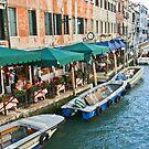 Ristorante - Canal - Venecia by imagic